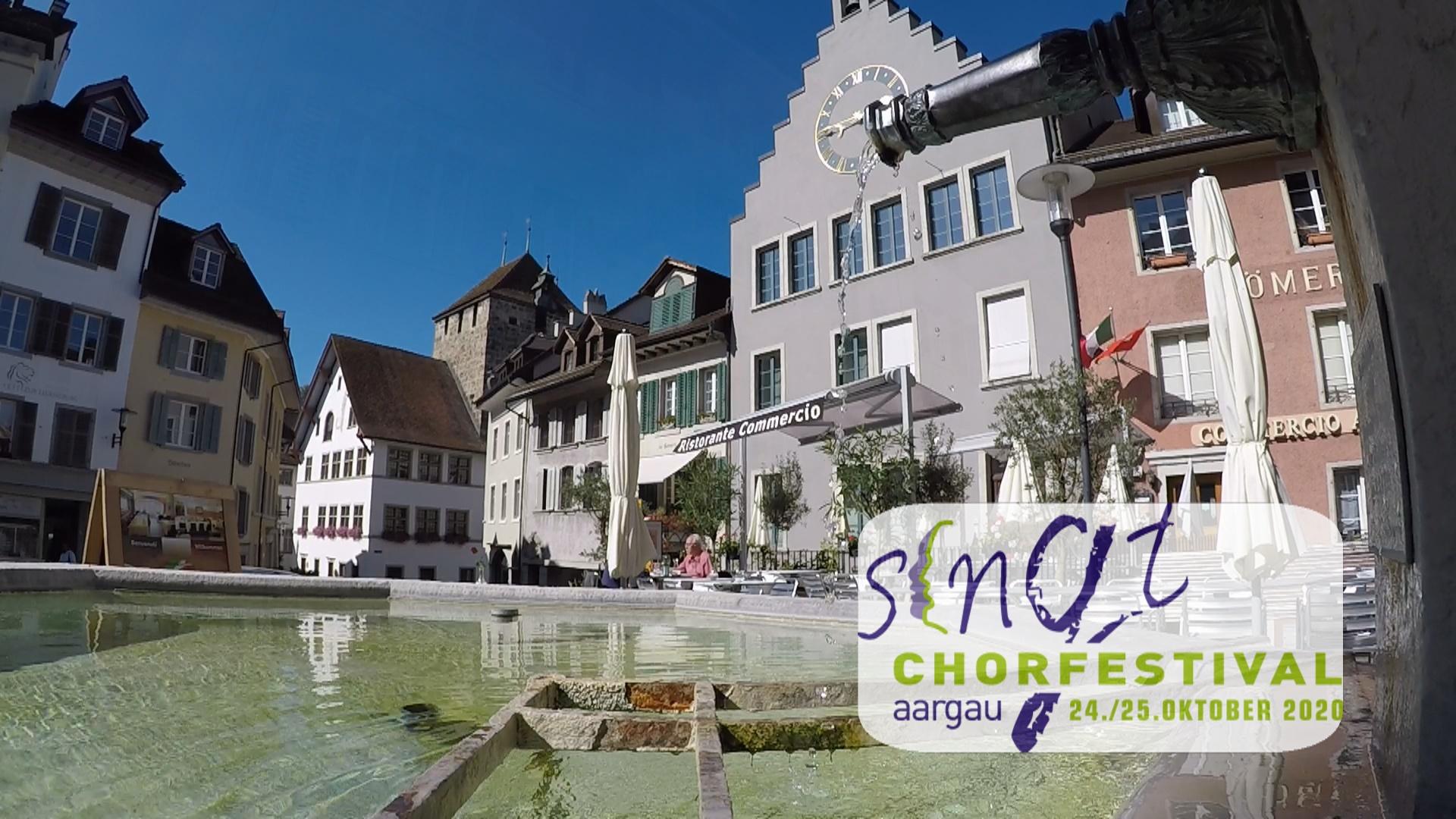 Brugg ist der Durchführungsort des Chorfestivals 2021.